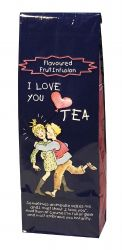 "TISANE AUX FRUITS :"" I LOVE YOU TEA"""