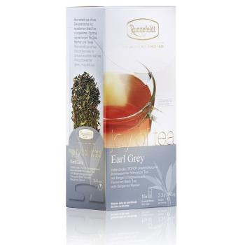 "RONNEFELDT sachet ""JOY OF TEA (leafcup) : thé noir EARL GREY"