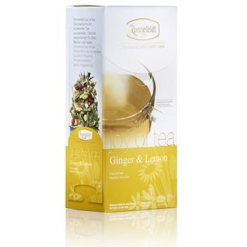"RONNEFELDT ""Joy of Tea"" (leafcup) : GINGER & LEMON :"