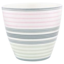GREENGATE : LATTE CUP GOBELET MABEL WHITE