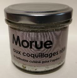LAtelier du Cuisinier : Tartinable de MORUE aux xoquillages rôtis